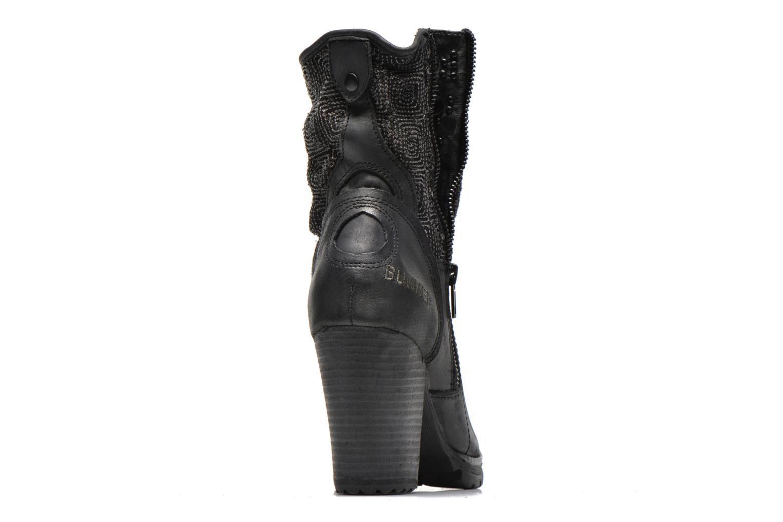 Bottines et boots Bunker HanMu Noir vue droite
