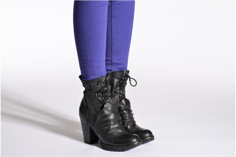 Bottines et boots Bunker Cav Ru Noir vue bas / vue portée sac