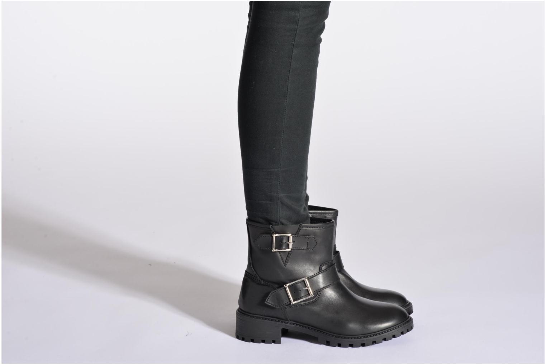 Uda leather Leather Black