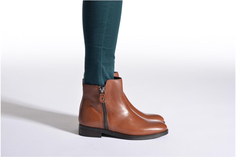 Stiefeletten & Boots Bruno Premi Zadina schwarz ansicht von unten / tasche getragen