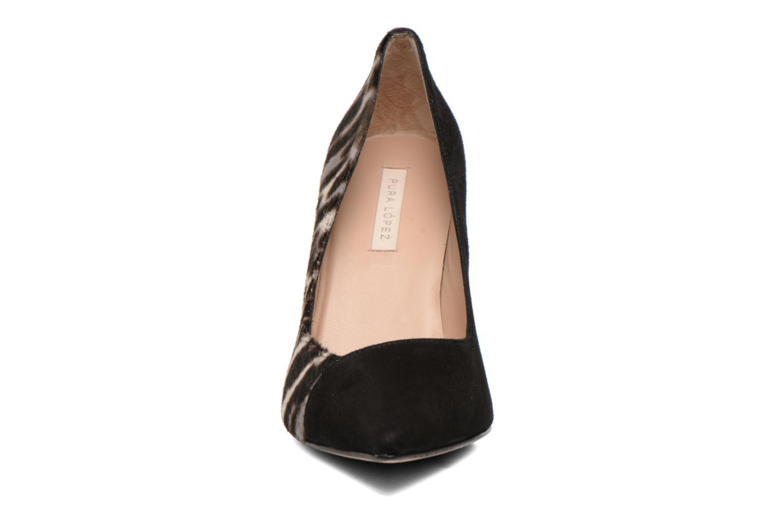 Escarpins Pura Lopez Badja Noir vue portées chaussures