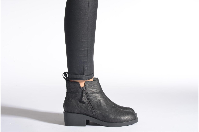 Bottines et boots Schmoove Woman Initial Zip Boots Noir vue bas / vue portée sac