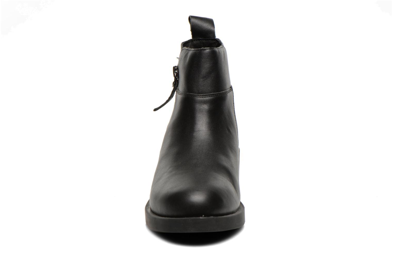 Initial Zip Boots Baby Calf Black