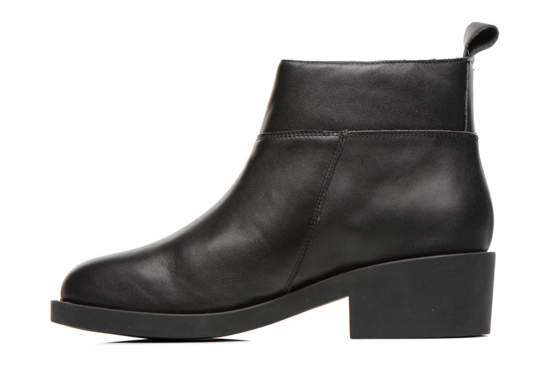 Bottines et boots Schmoove Woman Initial Zip Boots Noir vue face
