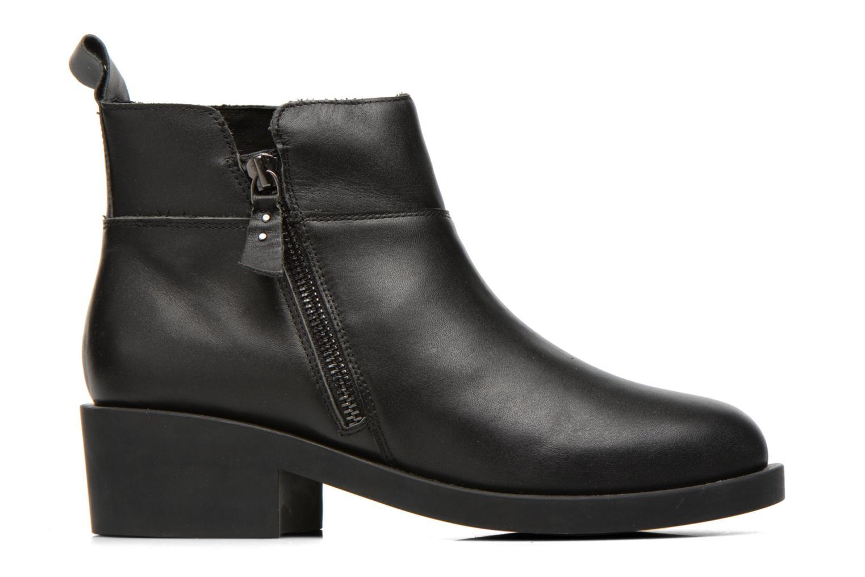 Bottines et boots Schmoove Woman Initial Zip Boots Noir vue derrière