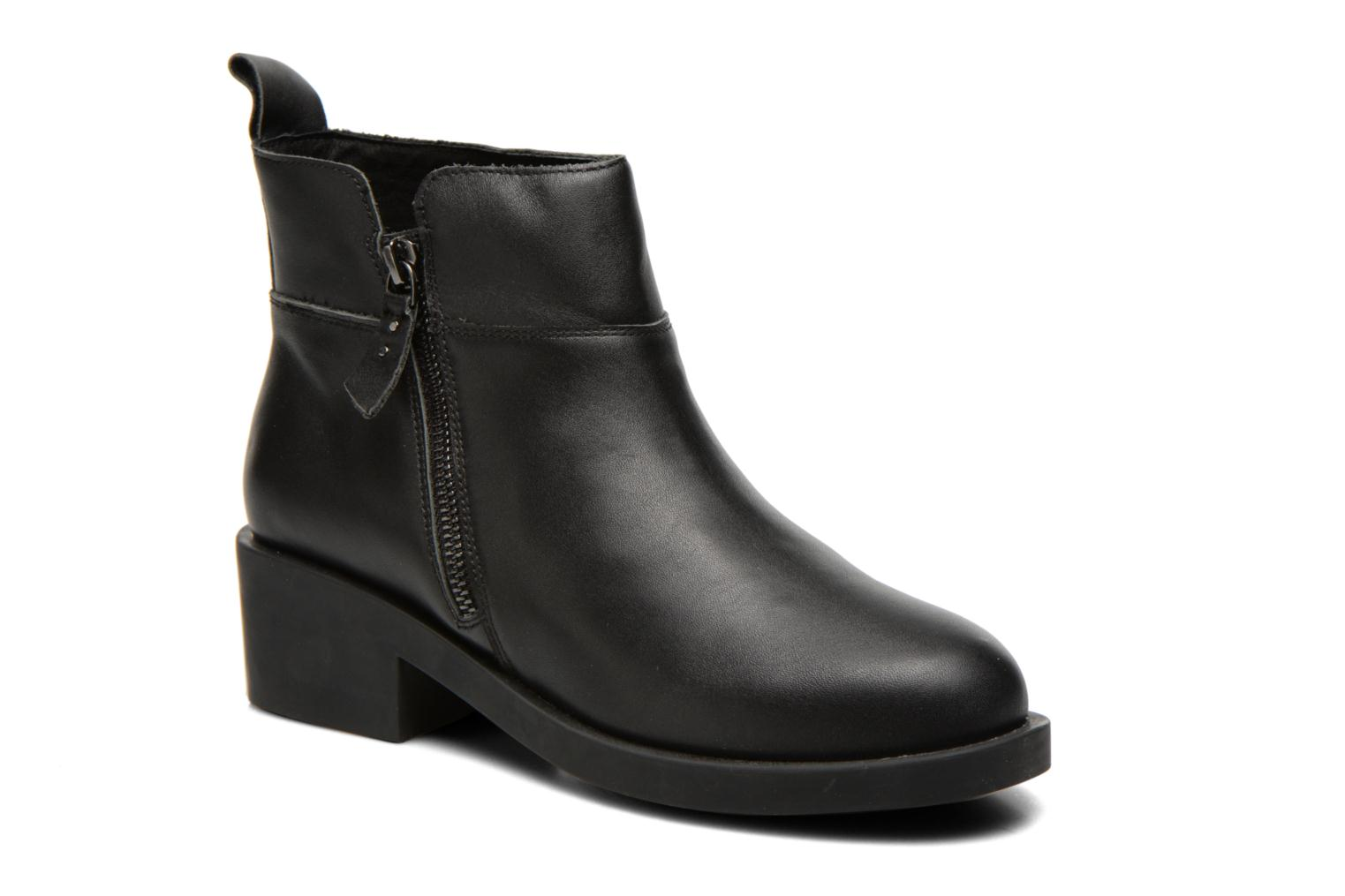 Marques Chaussure femme Schmoove Woman femme Initial Zip Boots Nero