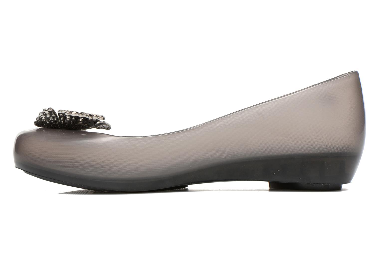 Ballerinas Melissa Melissa Ultragirl + Cinderella schwarz ansicht von vorne