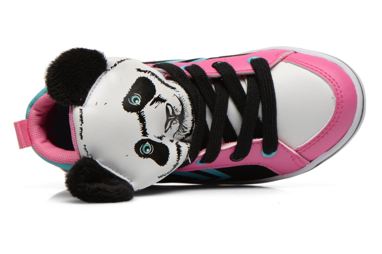 Sneaker Feiyue Delta Mid Animal 2 schwarz ansicht von links