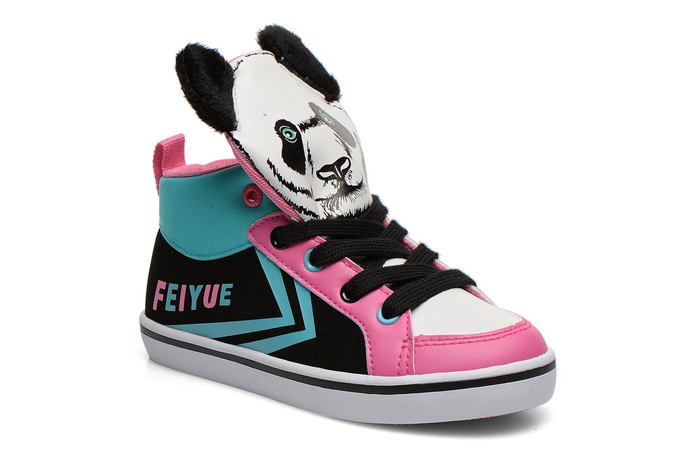 Sneaker Feiyue Delta Mid Animal 2 schwarz detaillierte ansicht/modell