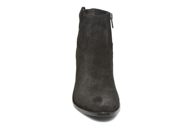 Bottines et boots Ash Ivana Noir vue portées chaussures