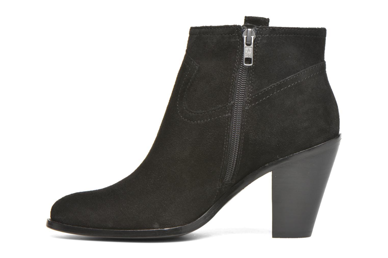 Bottines et boots Ash Ivana Noir vue face