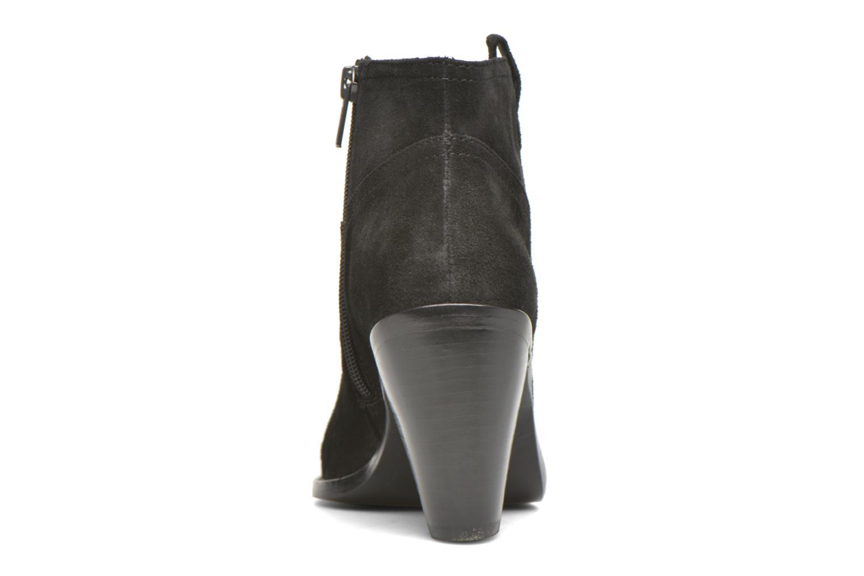Bottines et boots Ash Ivana Noir vue droite