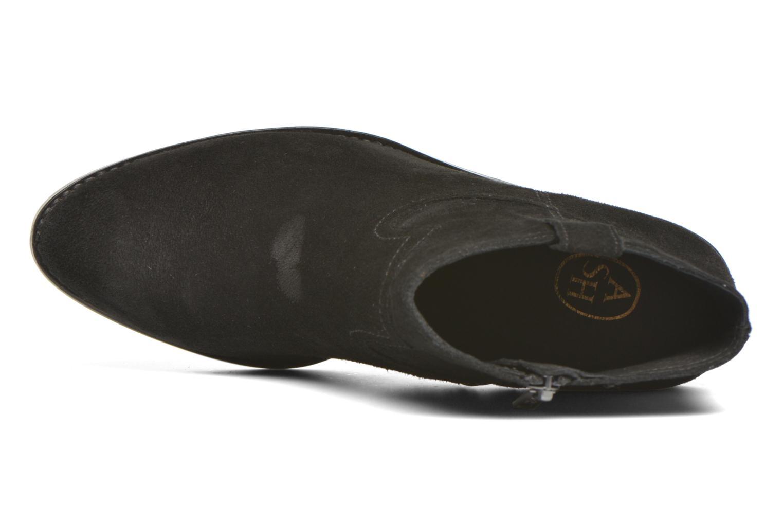 Bottines et boots Ash Ivana Noir vue gauche
