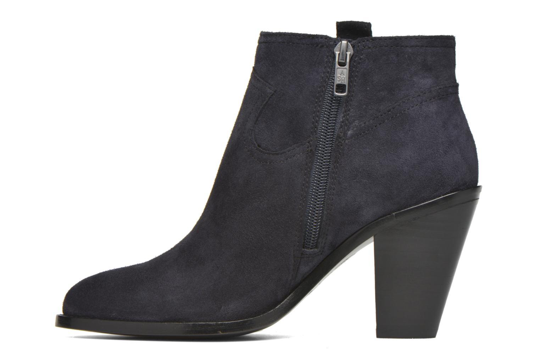 Bottines et boots Ash Ivana Bleu vue face