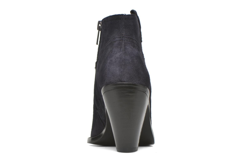 Bottines et boots Ash Ivana Bleu vue droite