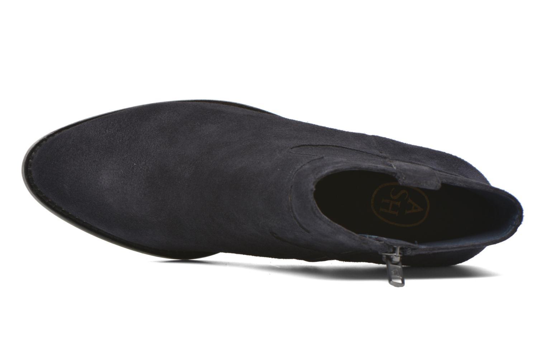 Bottines et boots Ash Ivana Bleu vue gauche