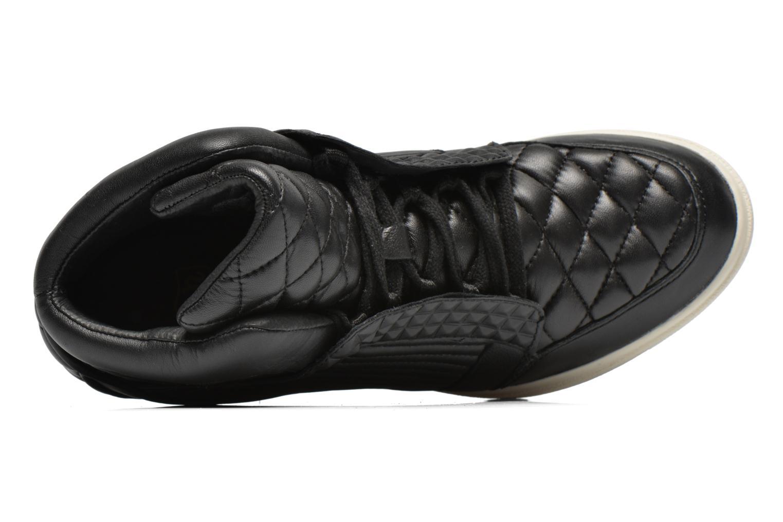 Sneaker Ash Azimut schwarz ansicht von links