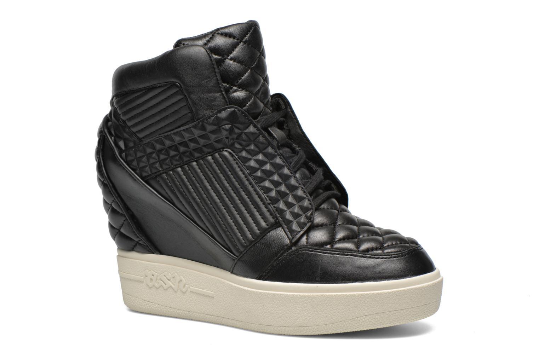 Sneaker Ash Azimut schwarz detaillierte ansicht/modell