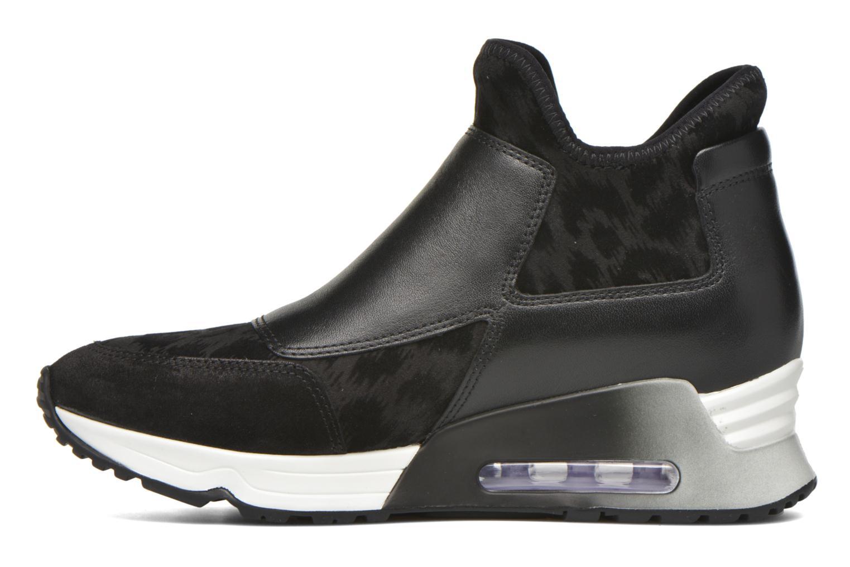 Sneaker Ash Lazer schwarz ansicht von vorne