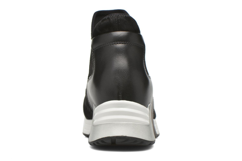Sneaker Ash Lazer schwarz ansicht von rechts