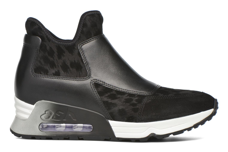 Sneaker Ash Lazer schwarz ansicht von hinten