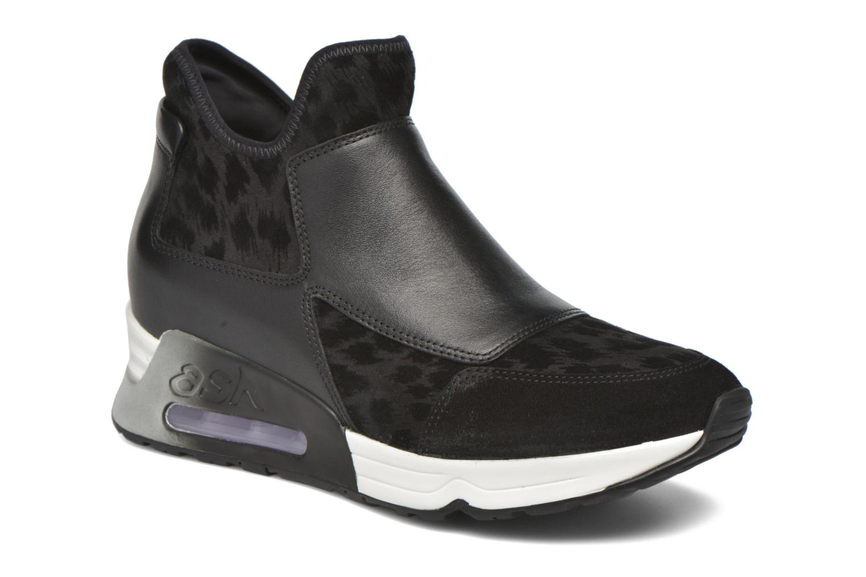 Sneaker Ash Lazer schwarz detaillierte ansicht/modell