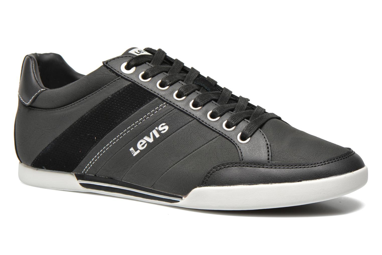 Sneakers Levi's Turlock Refresh Zwart detail