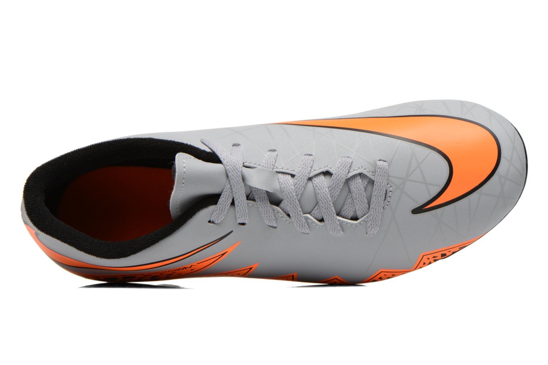 Hypervenom Phade II Fg Wolf Grey/Total Orange-Blk-Blk