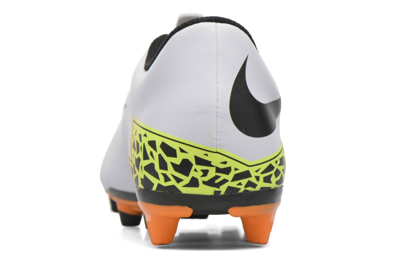 Sportssko Nike Hypervenom Phade II Fg Hvid Se fra højre