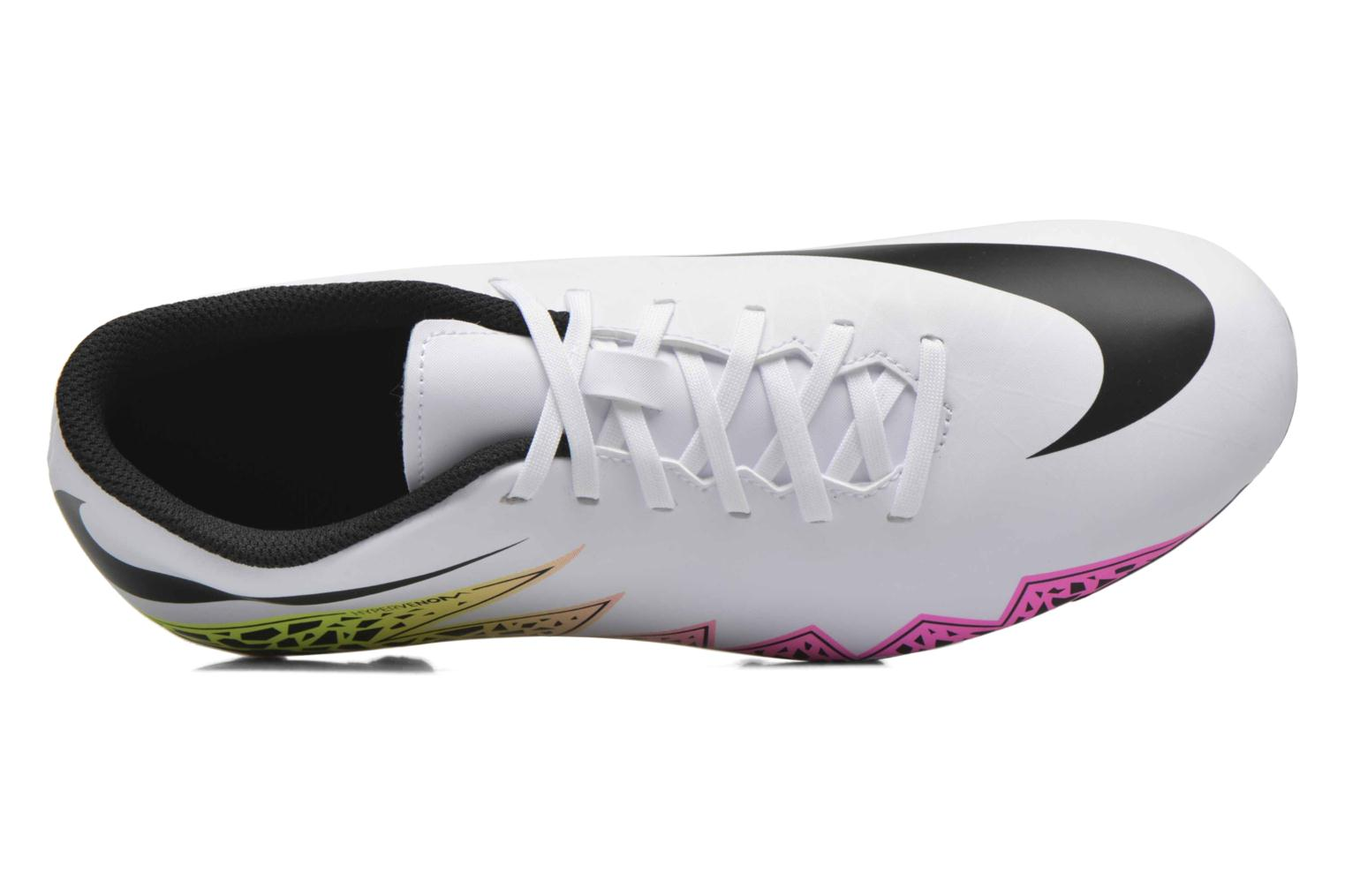 Hypervenom Phade II Fg White/Black-Total Orange-Volt
