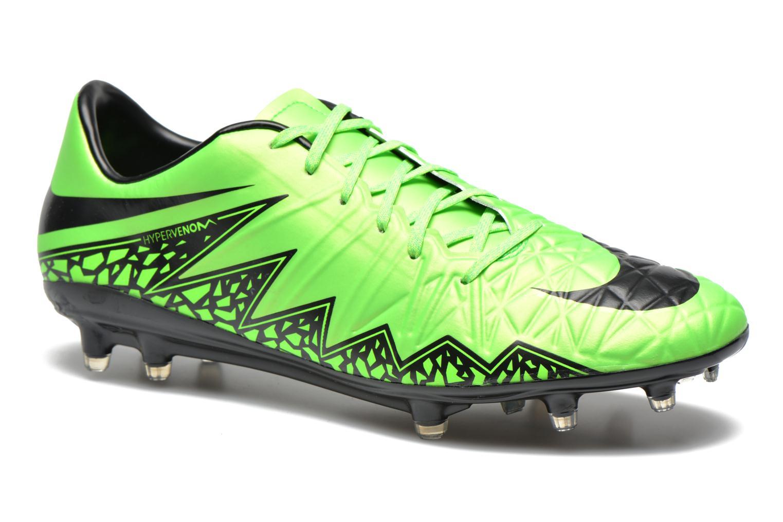 Sportschoenen Nike Hypervenom Phatal II Fg Groen detail