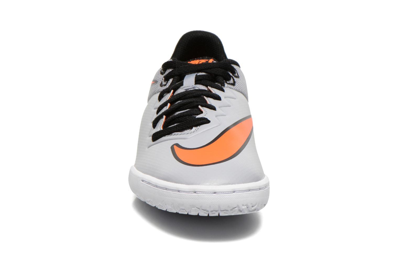 Sportschuhe Nike Hypervenomx Pro Ic grau schuhe getragen