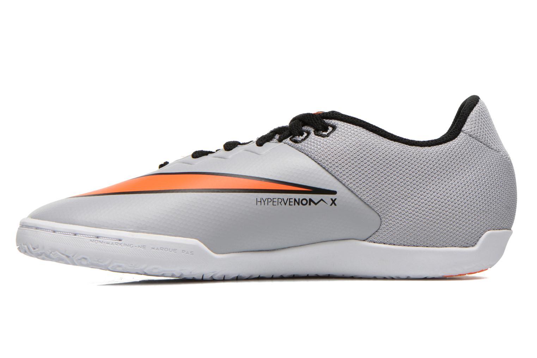 Chaussures de sport Nike Hypervenomx Pro Ic Gris vue face