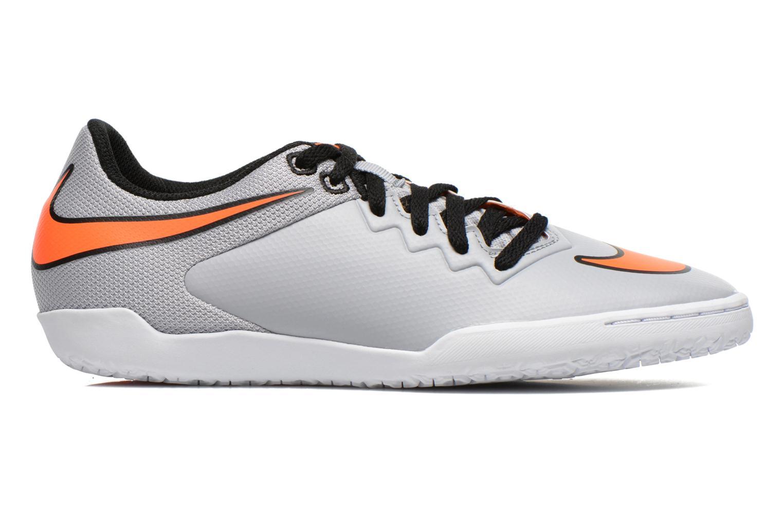 Chaussures de sport Nike Hypervenomx Pro Ic Gris vue derrière