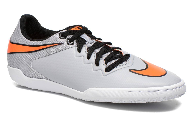 Chaussures de sport Nike Hypervenomx Pro Ic Gris vue détail/paire