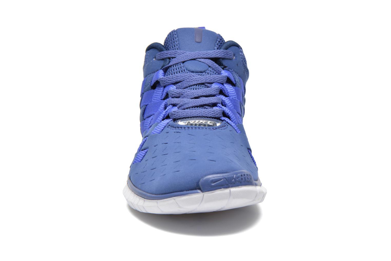 Deportivas Nike Nike Free Og '14 Woven Azul vista del modelo