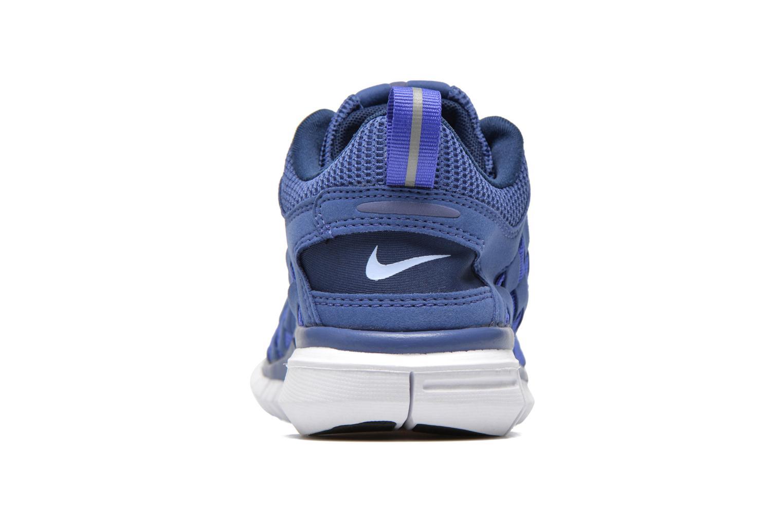 Deportivas Nike Nike Free Og '14 Woven Azul vista lateral derecha
