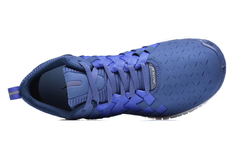 Deportivas Nike Nike Free Og '14 Woven Azul vista lateral izquierda