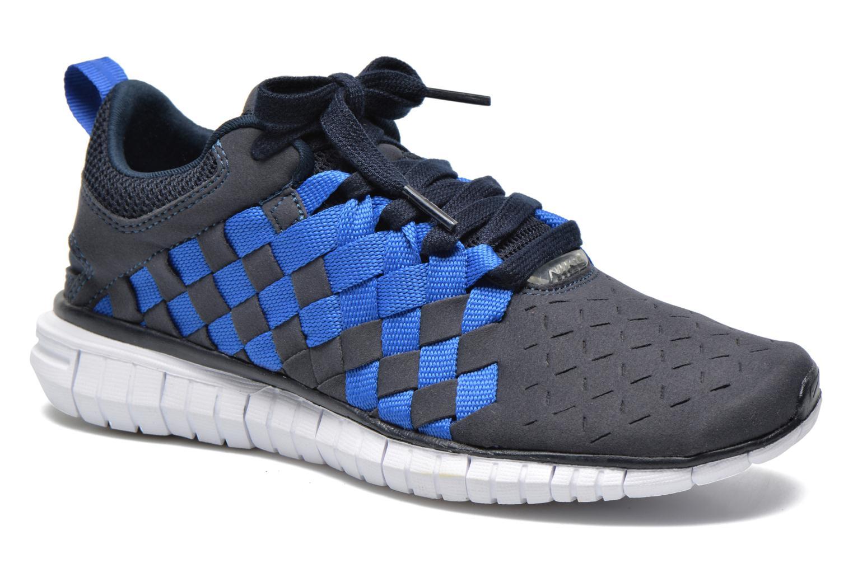 Baskets Nike Nike Free Og '14 Woven Bleu vue détail/paire