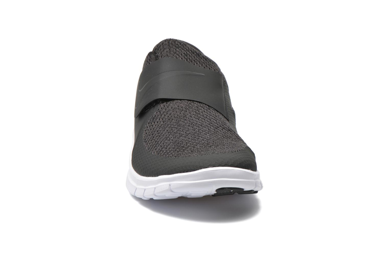 Sneaker Nike Nike Free Socfly schwarz schuhe getragen