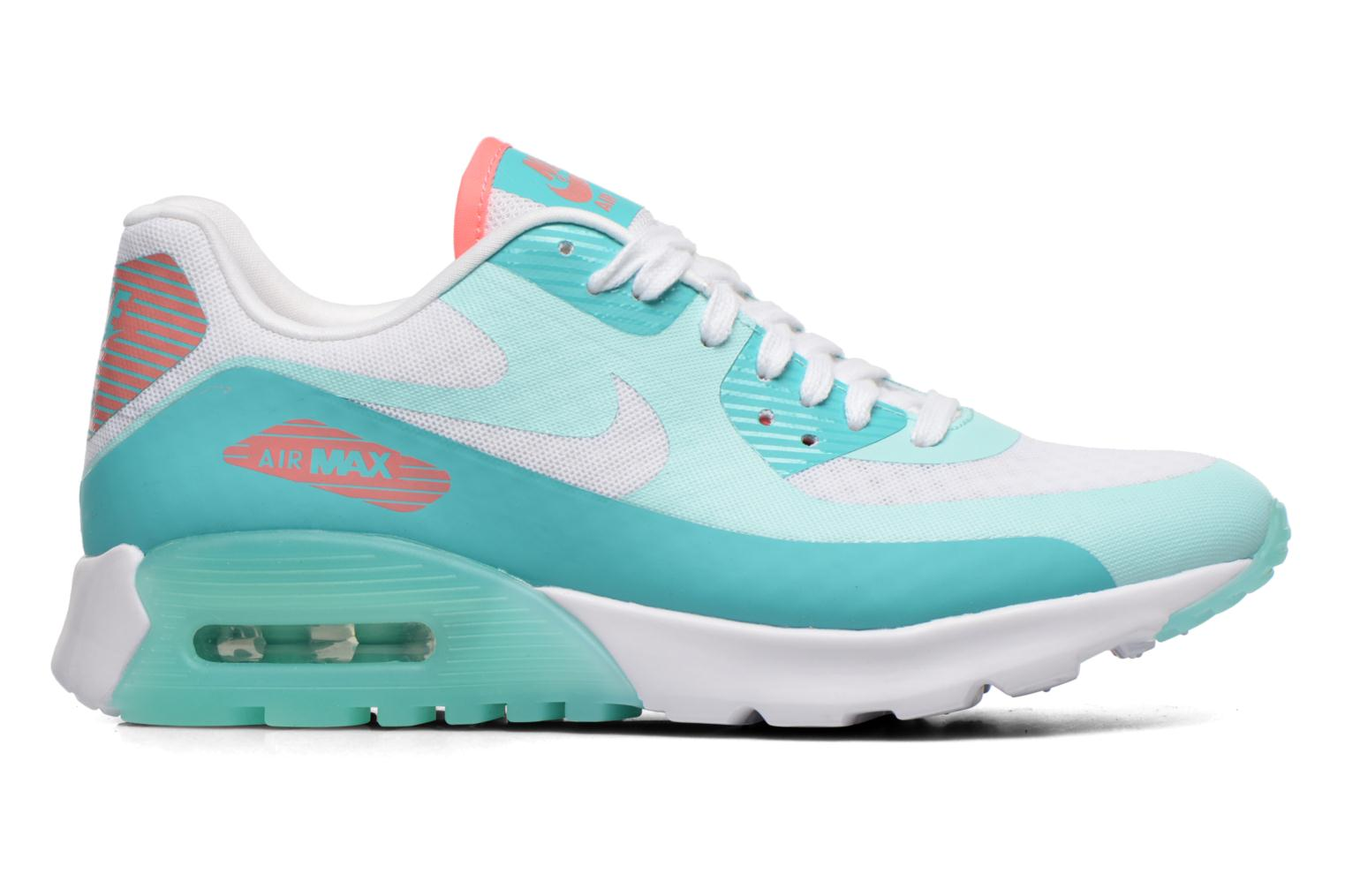 W Air Max 90 Ultra Br White/White-Lt Retro-Lava Glow