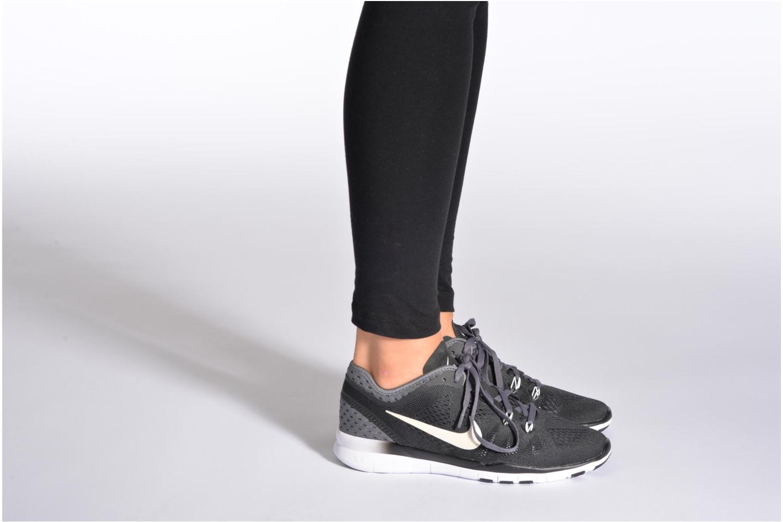 Zapatillas de deporte Nike W Nike Free 5.0 Tr Fit 5 Brthe Gris vista de abajo