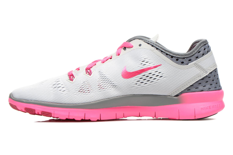 Zapatillas de deporte Nike W Nike Free 5.0 Tr Fit 5 Brthe Gris vista de frente