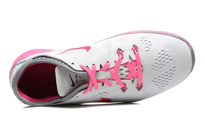 Zapatillas de deporte Nike W Nike Free 5.0 Tr Fit 5 Brthe Gris vista lateral izquierda