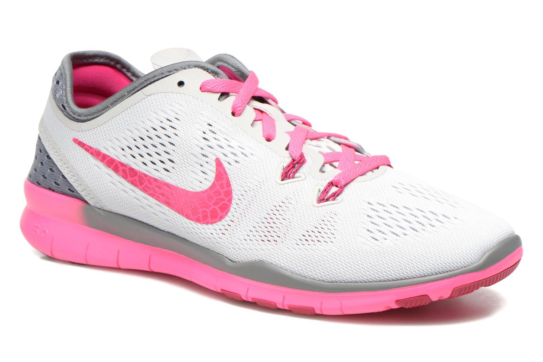 Zapatillas de deporte Nike W Nike Free 5.0 Tr Fit 5 Brthe Gris vista de detalle / par