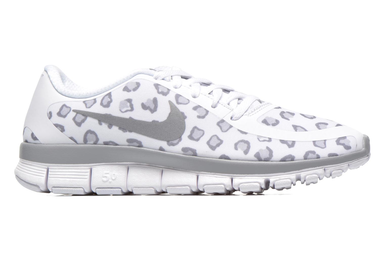 Sportschoenen Nike W Nk Free 5.0 V4 Ns Pt Wit achterkant