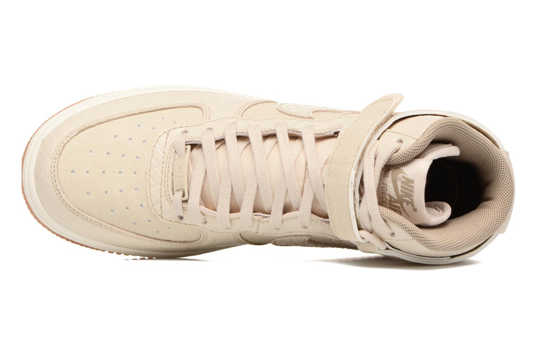 Baskets Nike Wmns Air Force 1 Hi Prm Beige vue gauche