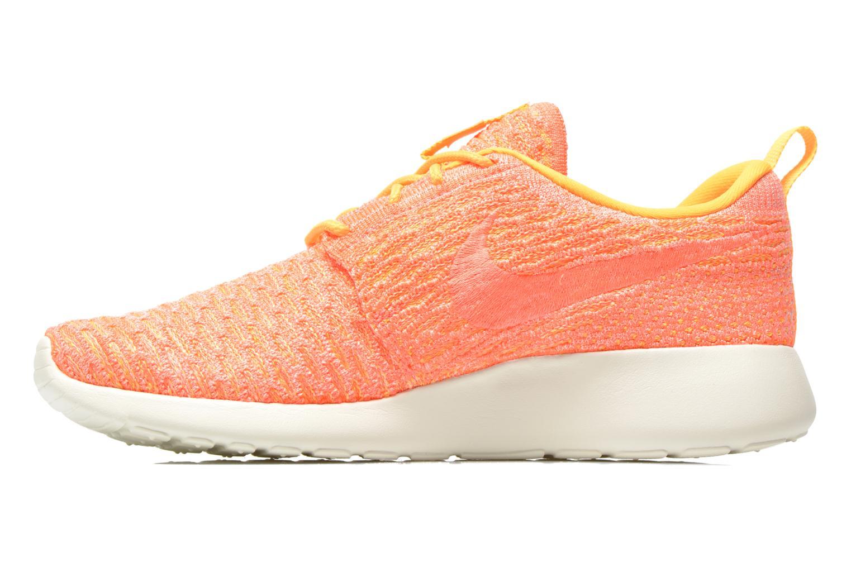 Sneaker Nike Wmns Roshe One Flyknit orange ansicht von vorne