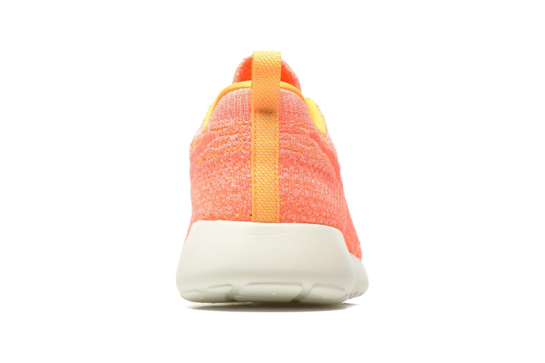 Sneaker Nike Wmns Roshe One Flyknit orange ansicht von rechts