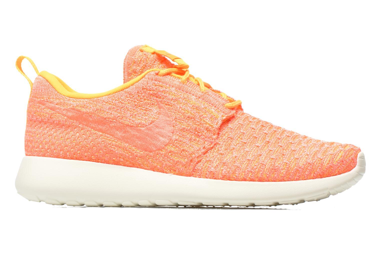 Sneaker Nike Wmns Roshe One Flyknit orange ansicht von hinten